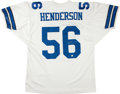 Football Collectibles:Uniforms, Hollywood Henderson Signed Dallas Cowboys Jersey. ...