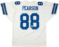 """Football Collectibles:Uniforms, Drew Pearson """"Mr. Clutch"""" Signed Dallas Cowboys Jersey...."""
