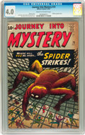 Silver Age (1956-1969):Mystery, Journey Into Mystery #73 (Marvel, 1961) CGC VG 4.0 Cream tooff-white pages....