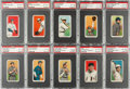 Baseball Cards:Lots, 1909-11 T206 White Borders PSA EX-MT 6 or Better Collection (22)....