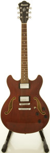 Musical Instruments:Electric Guitars, Ibanez AS73-TCR Cherry Semi-Hollow Body Electric Guitar,#S05122320....