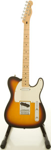 Musical Instruments:Electric Guitars, 2006 Fender Telecaster Sunburst Solid Body Electric Guitar,#MZ6060326....