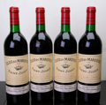 Red Bordeaux, Clos du Marquis 1986 . St. Julien. 1bn, 2lbsl, 1lscl. Bottle(4). ... (Total: 4 Btls. )