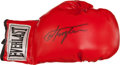 Boxing Collectibles:Autographs, Joe Frazier Signed Glove....