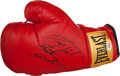 Boxing Collectibles:Autographs, Larry Holmes Signed Boxing Glove. ...