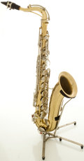 Musical Instruments:Horns & Wind Instruments, 1970's Conn Shooting Star Brass Tenor Saxophone, #M04697....