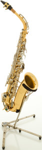 Musical Instruments:Horns & Wind Instruments, Selmer Bundy USA Brass Alto Saxophone, #715507....