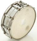 Musical Instruments:Drums & Percussion, Circa 1966 Ludwig Keystone Snare Drum Chrome, #366631....