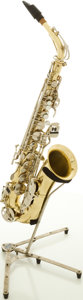 Musical Instruments:Horns & Wind Instruments, Selmer Bundy II Brass Alto Saxophone, #1190054....
