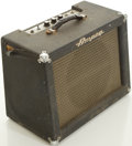 Musical Instruments:Amplifiers, PA, & Effects, Circa 1961 Ampeg Jet J-12 Guitar Amplifier, #205111....
