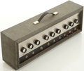 Musical Instruments:Amplifiers, PA, & Effects, 1960's Silvertone 1484 Guitar Amplifier Head....