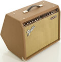 Musical Instruments:Amplifiers, PA, & Effects, Fender Acoustasonic 30 Brown Guitar Amplifier, #M1281679....