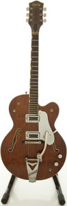 Musical Instruments:Electric Guitars, 1964 Gretsch Tennessean Walnut Semi-Hollow Body Electric Guitar,#67727....