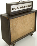 Musical Instruments:Amplifiers, PA, & Effects, 1960's Silvertone 1485 Guitar Amplifier....