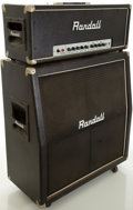 Musical Instruments:Amplifiers, PA, & Effects, Randall RG100ES Half Stack Guitar Amplifier, #717294....