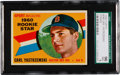 Baseball Cards:Singles (1960-1969), 1960 Topps Carl Yastrzemski #148 SGC 96 Mint 9 - Pop Four, NoneHigher! ...