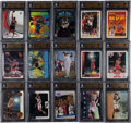 Basketball Cards:Lots, 1990's-2000's Michael Jordan Beckett Pristine 10 Collection (15)....