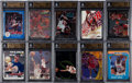 Basketball Cards:Lots, 1980's-2000's Michael Jordan BGS Gem MT 9.5 Collection (25). ...