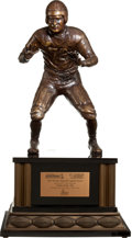 Football Collectibles:Others, 2007 Bronko Nagurski Legends Award Trophy Presented to Bubba Smith....