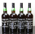 Port/Madeira/Misc Dessert, Lidador Vintage Port. 1991 Bottle (1). 1974 Reserve Bottle(3). ... (Total: 4 Btls. )
