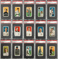 Baseball Cards:Lots, 1909-11 T206 White Borders PSA EX 5 Collection (26) With HoFers....
