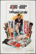 """Movie Posters:James Bond, Live and Let Die (United Artists, 1973). One Sheet (27"""" X 41""""). James Bond.. ..."""