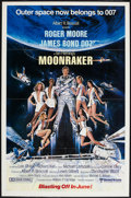 "Movie Posters:James Bond, Moonraker (United Artists, 1979). One Sheet (27"" X 41"") Advance. James Bond.. ..."
