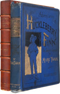 Books:Literature Pre-1900, Mark Twain. Adventures of Huckleberry Finn (Tom Sawyer'sComrade). New York: Charles L. Webster and Company, 1885....