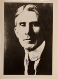 Books:Photography, [Zane Grey]. Group of Forty Photographs Relating to Zane Grey, including: 8.5 x 6.25 reproduction, signed by Zane Grey. ... (Total: 5 Items)