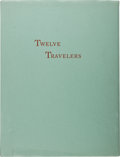 Books:Americana & American History, [Tom Lea]. Calendar of Twelve Travelers Through the Pass of theNorth. At the Pass [El Paso]: [Carl Hertzog], 19...
