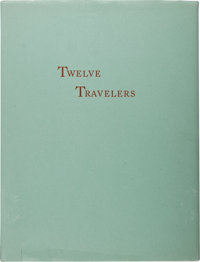 [Tom Lea]. Calendar of Twelve Travelers Through the Pass of the North. At the Pass [