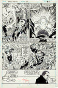Original Comic Art:Panel Pages, Todd McFarlane The Amazing Spider-Man #309 Page 3 OriginalArt (Marvel, 1988)....