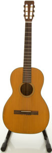 Musical Instruments:Acoustic Guitars, 1965 Martin O-16 NY Natural Classical Guitar, #201238....