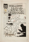 Original Comic Art:Covers, Al Avison Joe Palooka #110 Cover Original Art (Harvey,1960)....