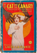Books:Science Fiction & Fantasy, John Willard. The Cat and the Canary. New York: Jacobsen Publishing Company, Inc., 1927. First Photoplay edition...