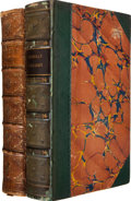 Books:Literature Pre-1900, Charles Dickens. The Life and Adventures of NicholasNickleby. London: Chapman and Hall, 1839. First edition, ea...(Total: 2 Items)