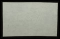 """Fractional Currency:First Issue, """"CSA"""" Watermarked Paper - Single Block.. ..."""