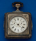 Timepieces:Pocket (pre 1900) , Loehr Patent Automatic Winding Watch For Restoration. ...