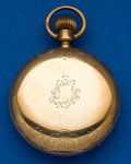 Timepieces:Pocket (post 1900), Hampden 18 Size Gold 52 mm Hunter's Case Pocket Watch. ...
