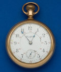 Timepieces:Pocket (post 1900), Rockford 24 Jewel 900 18 Size 24 Hour Pocket Watch. ...