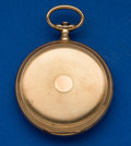 Timepieces:Pocket (post 1900), Elgin 21 Jewel Heavy 14k Gold Hunter's Case Pocket Watch. ...