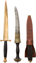 Edged Weapons:Daggers, Lot of 3 Assorted Daggers.... (Total: 3 Items)