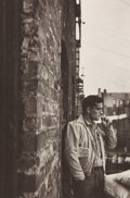 Photographs:20th Century, ALLEN GINSBERG (American, 1926-1997). Jack Kerouac, NewYork, 1953. Platinum, printed later. 11-3/4 x 7-7/8 inches(29.8...
