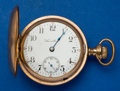 Timepieces:Pocket (post 1900), Hamilton 17 Jewel 18 Size Hunter's Case Pocket Watch. ...