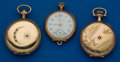 Timepieces:Pocket (post 1900), Three Gold Filled Pocket Watches. ... (Total: 3 Items)