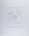 Autographs:Celebrities, Phyllis Coates. Signed and Inscribed Original Portrait. [N.p.], 1995. Coates was the first Lois Lane on the Adventures of ...