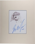 Autographs:Authors, George R. R. Martin. Signed and Dated Original Portrait. [N.p.],6/29/1995. Signed by Martin and artist John Tibbetts....