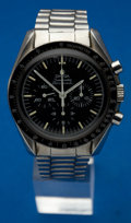 Timepieces:Wristwatch, Omega Speedmaster Professional Chronograph. ...