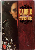 Books:Science Fiction & Fantasy, Stephen King. Carrie. Garden City: Doubleday & Company, Inc., 1974. First edition. Inscribed by King on a laid...
