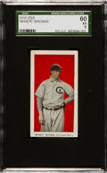 Baseball Cards:Singles (Pre-1930), 1910 E98 'Set of 30' Miner Brown, Red Background SGC 60 EX 5....